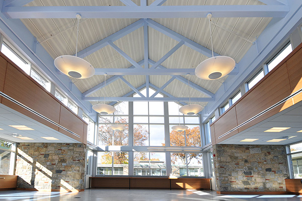 Interior of Westchester Community College Technical Building