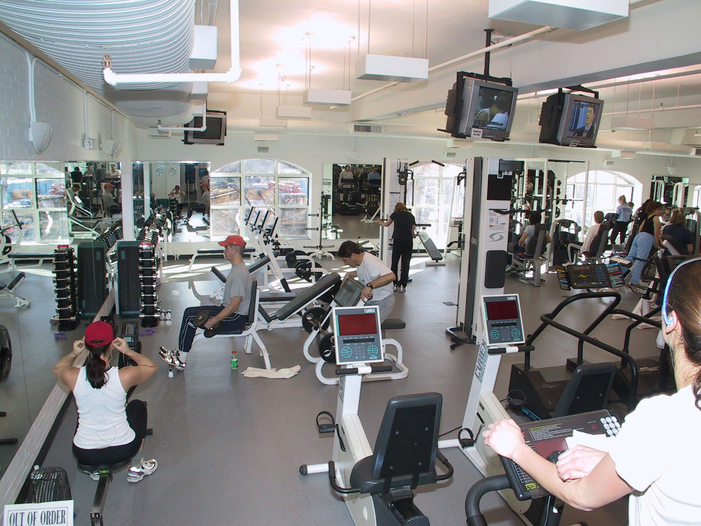 Fitness Center & Weight Room at the Rye YMCA