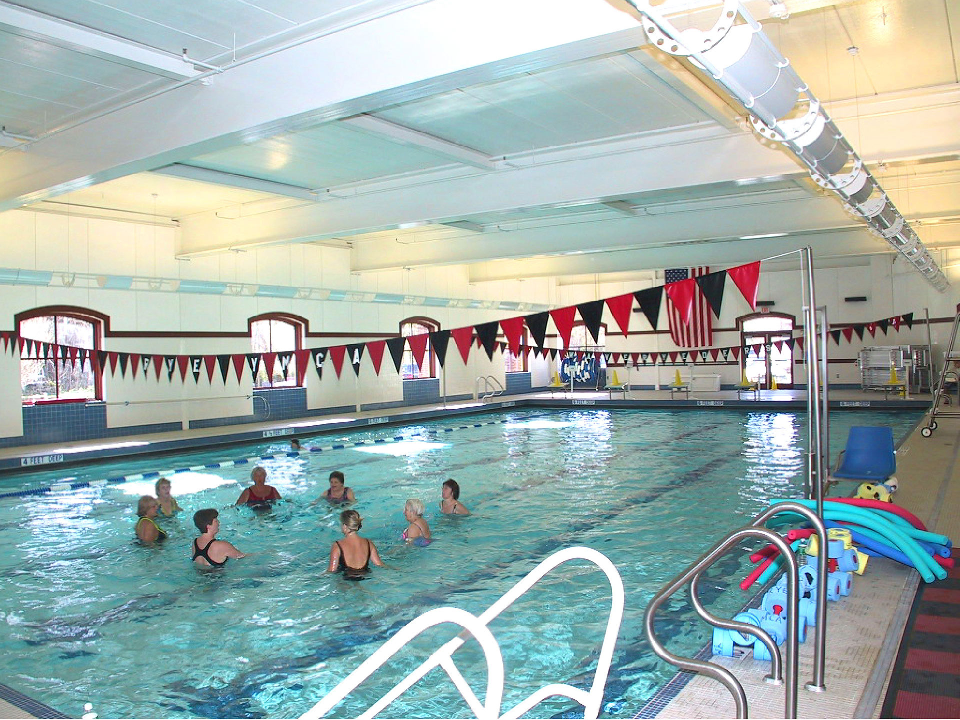 Pool at the Rye YMCA