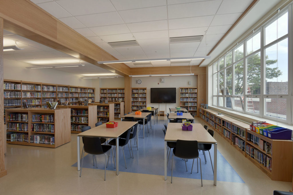 Library of IS 125 Queens