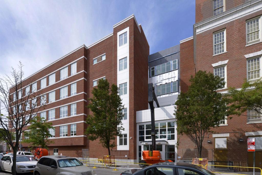 Exterior Street View of IS 125 Queens