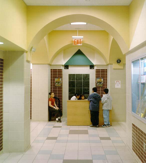 Foyer of PS 212 in Queens
