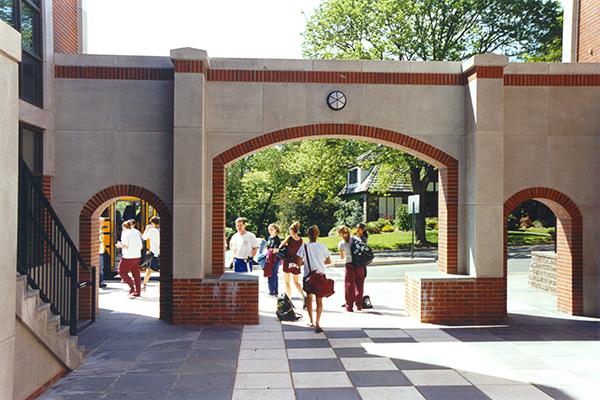 Ridgewood Highschool Arched entryway