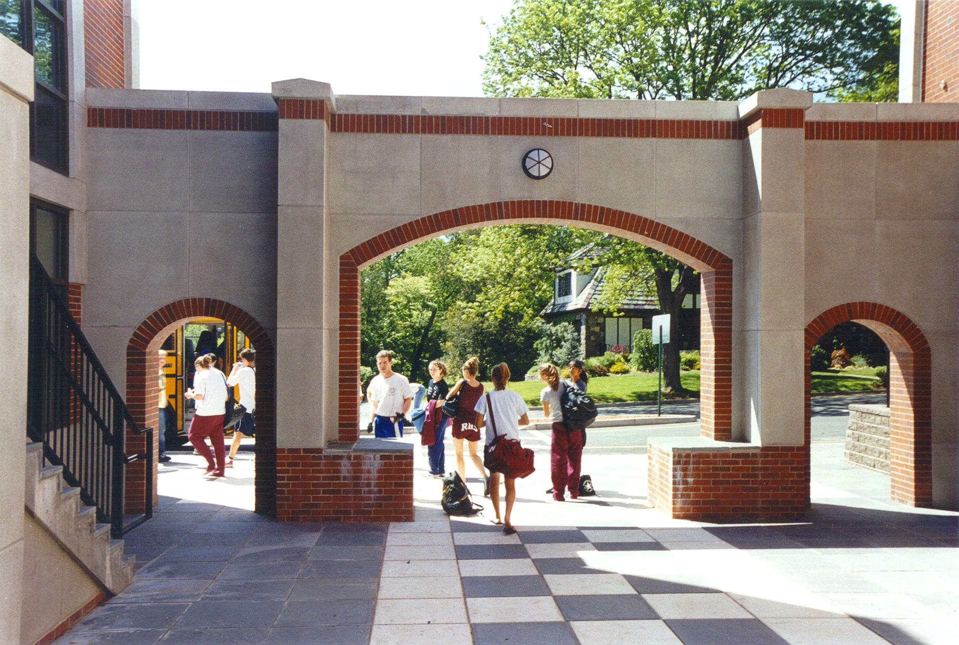 Ridgewood Highschool Archway Entrance