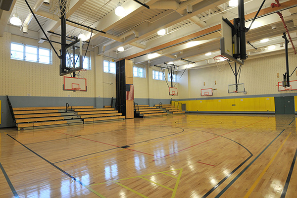 The Gym in PS/IS 113 in Queens