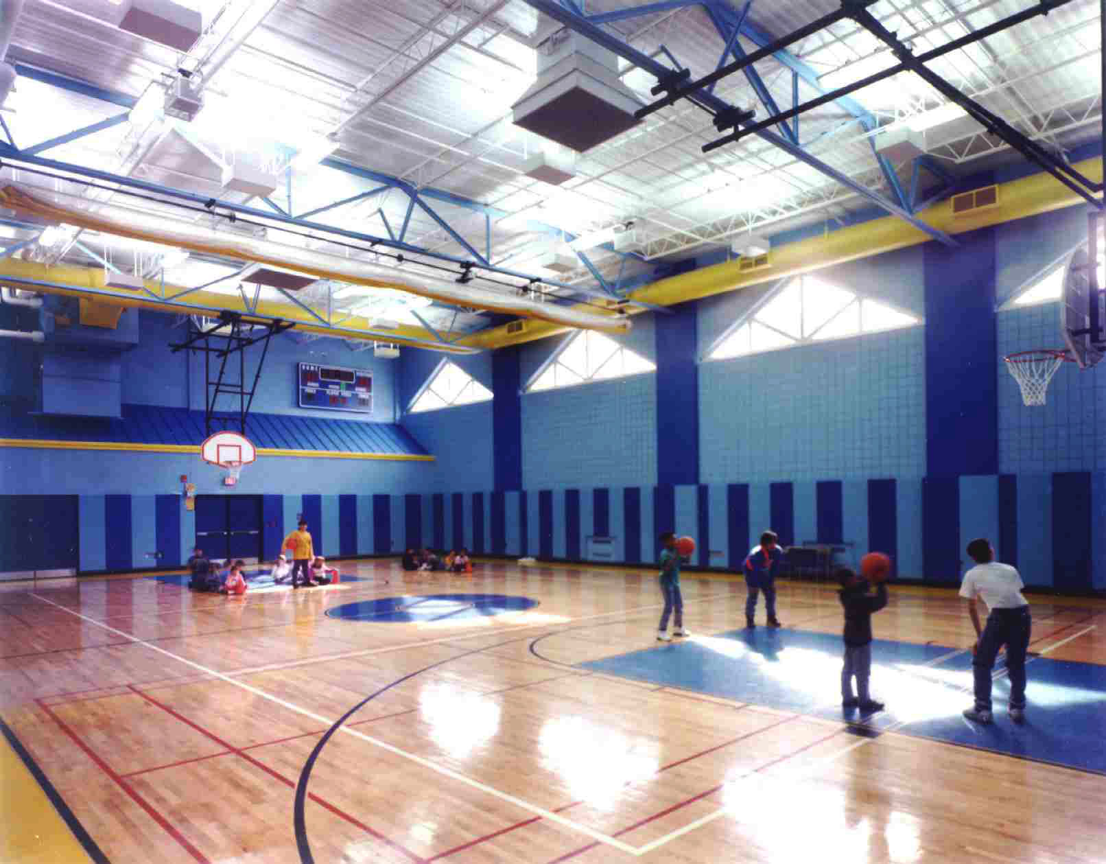 The Gym at the Yonkers Microsociety