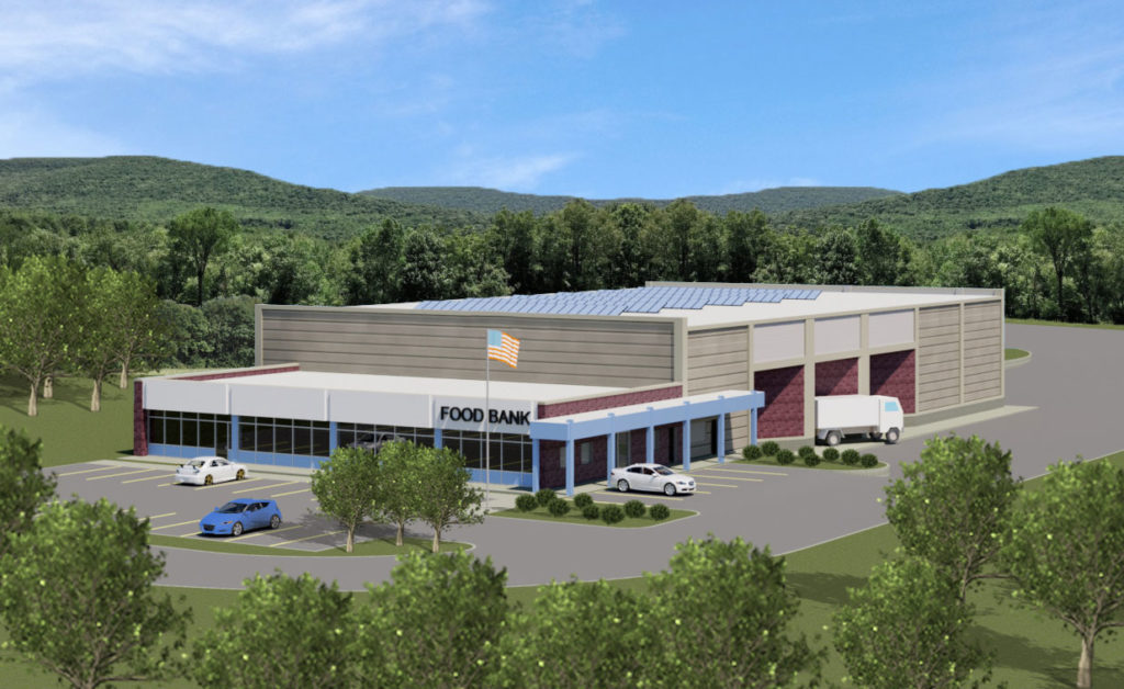 Westchester Food Bank rendering